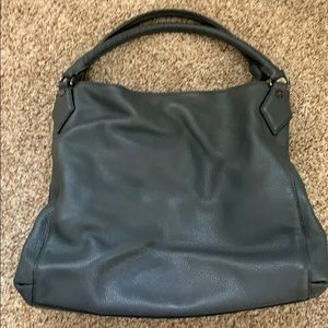 🎉 HP🎉 DVF grey leather hobo bag
